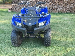 Cuatriciclo Yamaha Grizzly + Trailer